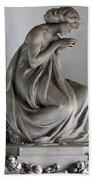 Famiglia Meretti Grave Marker Monumental Cemetery Milan Italy Bath Towel