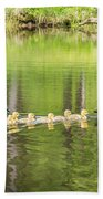 Family Outing Bath Towel