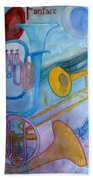 Fanfare Bath Towel