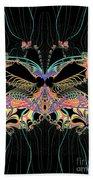 Fantasy Butterfly Bath Towel