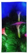 Fantasy Flowers Lux Hand Towel
