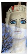 Far Away Eyes Bath Towel