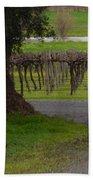 Farm And Vineyard Bath Towel