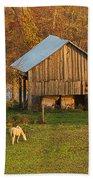 Farm At Sunrise Hand Towel