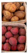 Farm Potatoes Bath Towel