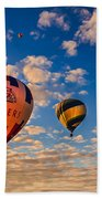 Farmer's Insurance Hot Air Ballon Bath Towel