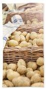 Farmers Potatoes Bath Towel