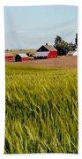 Farmlands Near Davenport Bath Towel