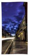 Farnham West St By Night Bath Towel
