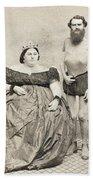 Fat Lady & Thin Man Bath Towel