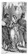 Faust: Mephistopheles 1828 Bath Towel