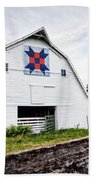 Fayette Farmers Daughter Quilt Barn Hand Towel by Cricket Hackmann
