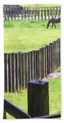 Fenced Bath Towel