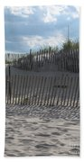 Fenced Dune Bath Towel