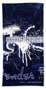 Fender Blueprint Washout Bath Towel