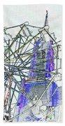 Ferris Wheel 2 Bath Towel