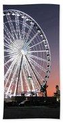 Ferris Wheel 22 Bath Towel