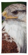 Ferruginous Hawk Bath Towel
