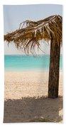Ffryers Beach Hut Bath Towel