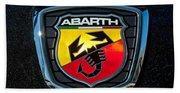 Fiat Abarth Emblem Bath Towel
