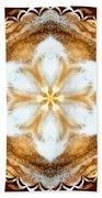 Fiber Optic Gold Bath Towel