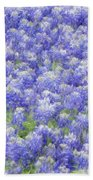 Field Of Bluebonnets Bath Towel