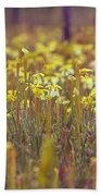 Field Of Pitcher Plants Hand Towel