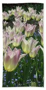 Field Of Tulips Bath Towel
