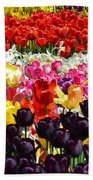 Field Of Tulips Ll Bath Towel