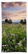 Field Of Wildflowers Hand Towel
