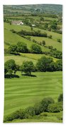 Fields In Northern Ireland Bath Towel