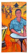Fiesta At The Beach Bath Towel