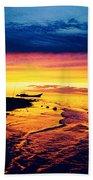 Fiji Paradise Sunset Bath Towel