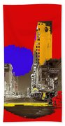 Film Homage Arthur Rothstein Theater Row  Majestic Melba  Palace Theaters Dallas Texas 1942-2008 Bath Towel