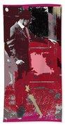 Film Homage Cameraman Billy Bitzer Director D.w. Griffith Collage Circa 1912-2012 Bath Towel