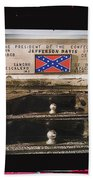 Film Homage Rock Hudson The Undefeated 1969 Apache Owned Pickup Tucson Az  Collage 1985-2012  Bath Towel