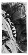 Film Homage The Yaqui 1916 Pascola Dancer New Pascua Arizona 1969-2008   Bath Towel