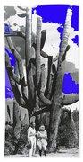 Film Homage Victor Fleming Jean Harlow Bombshell 1933 Saguaro Nat'l Monument Tucson 2008 Bath Towel