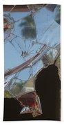 Film Noir Jim Thompson The Grifters 1990 Palm Trees Shattered Glass Casa Grande Arizona 2004 Bath Towel