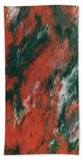 Fire And Ice Hand Towel