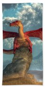 Fire Dragon Hand Towel