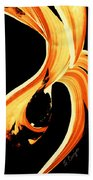 Fire Water 260 By Sharon Cummings Hand Towel