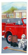 Firefighter - Still Life Bath Towel