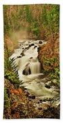 Firehole Falls Bath Towel