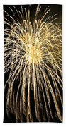 Fireworks At Night 3 Hand Towel