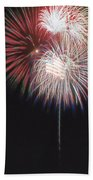 Fireworks For 4th Of July Bath Towel