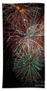 Fireworks6506 Bath Towel