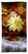 First Day Of Autumn - Still Life Bath Towel
