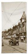 First Street Downtown San Jose California Circa 1905 Bath Towel