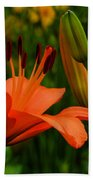 First To Bloom Bath Towel